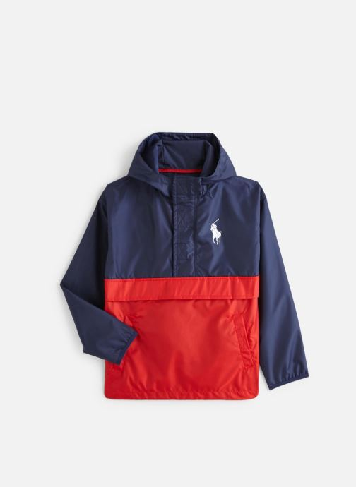 Kleding Polo Ralph Lauren Perf Pullovr-Outerwear-Jacket Blauw detail
