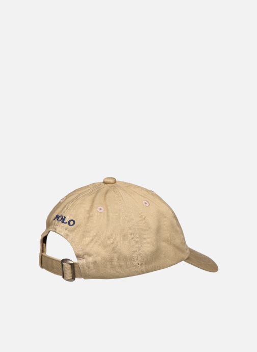 Pet Polo Ralph Lauren Clsc Cap-Apparel Accessories-Hat Kids Beige model