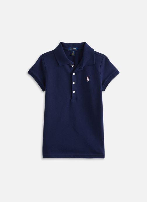 Vêtements Polo Ralph Lauren Ss Polo Shir-Tops-Knit Bleu vue détail/paire