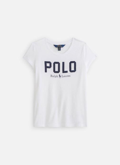Vêtements Polo Ralph Lauren Polo Icon Te-Tops-Knit Blanc vue détail/paire