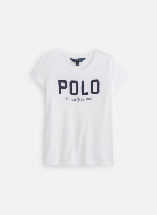 Kleding Polo Ralph Lauren Polo Icon Te-Tops-Knit Wit detail
