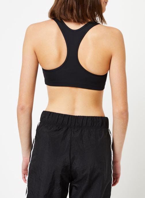 Vêtements Nike Nike Swoosh Bra Non Pad Noir vue portées chaussures