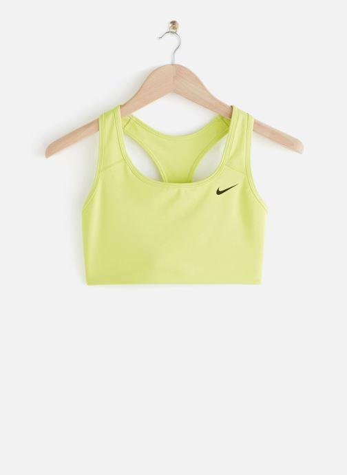 Vêtements Nike Nike Swoosh Bra Non Pad Jaune vue détail/paire