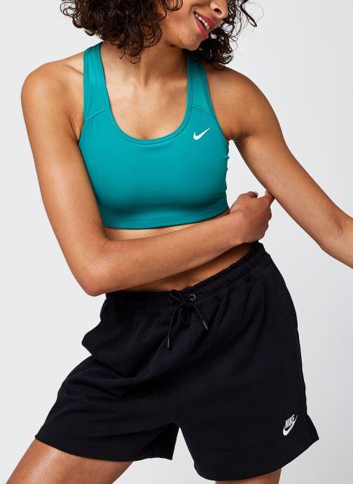 Vêtements Nike Nike Swoosh Bra Non Pad Vert vue détail/paire