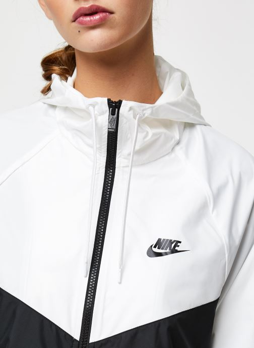 Vêtements Nike W Nsw Wr Jkt Blanc vue face