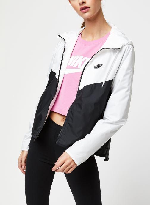 Vêtements Nike W Nsw Wr Jkt Blanc vue droite