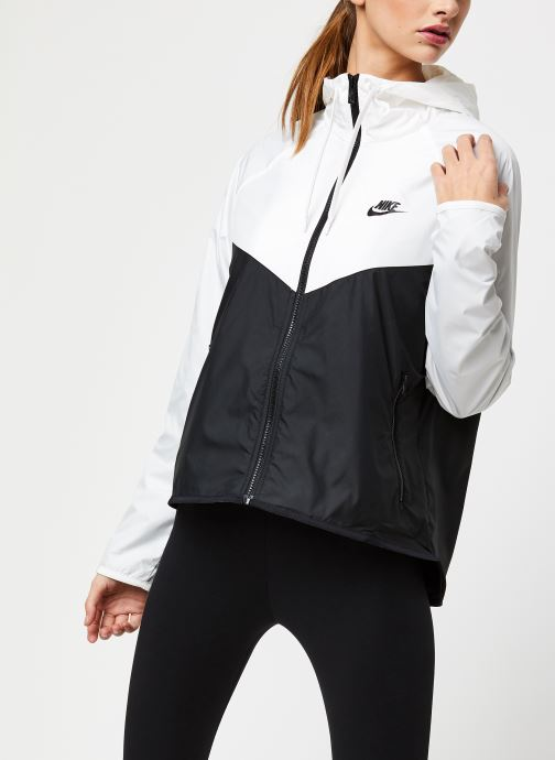 Vêtements Nike W Nsw Wr Jkt Blanc vue détail/paire