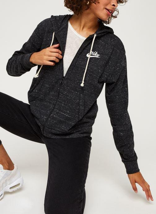 Sweatshirt hoodie - W Nsw Gym Vntg Hoodie Fz