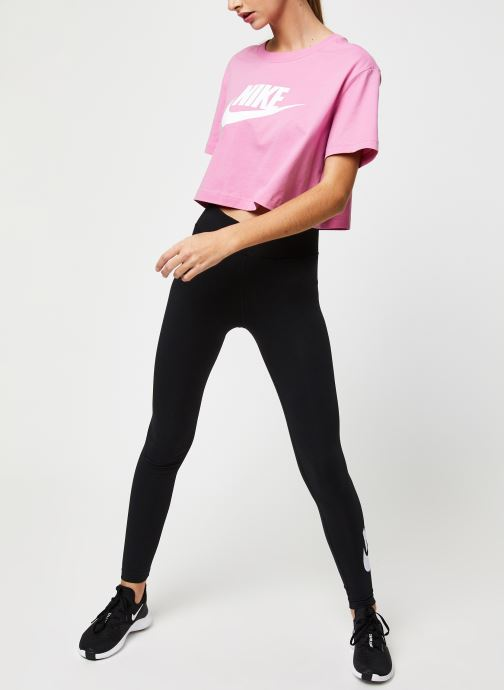 Vêtements Nike W Nsw Legasee Lgng Hw Futura Noir vue bas / vue portée sac