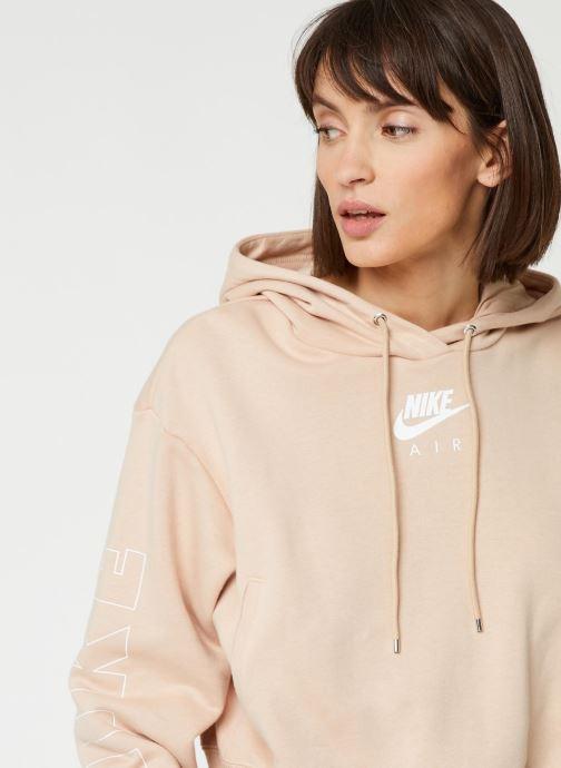 Nike Sweatshirt hoodie W Nsw Air Hoodie Flc Bb (Beige
