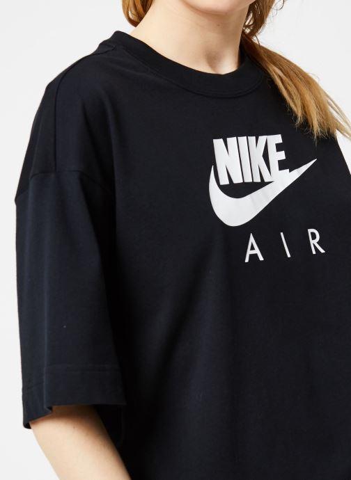 Vêtements Nike W Nsw Air Top Ss Bf Noir vue face
