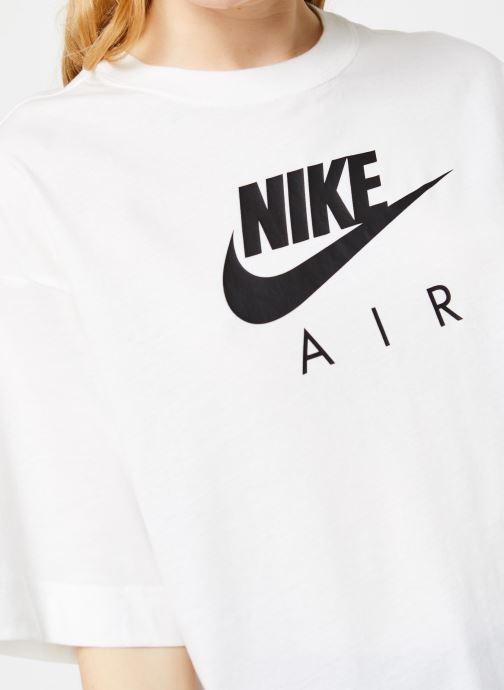 Vêtements Nike W Nsw Air Top Ss Bf Blanc vue face