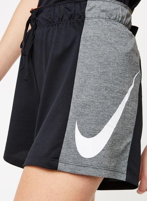 Kleding Nike W Nk Attk Tr 2.0 Shrt Icnclsh Zwart voorkant