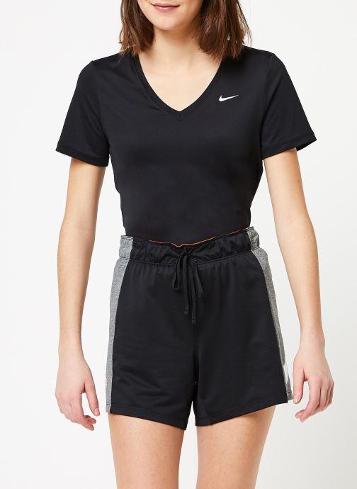 Kleding Nike W Nk Attk Tr 2.0 Shrt Icnclsh Zwart detail
