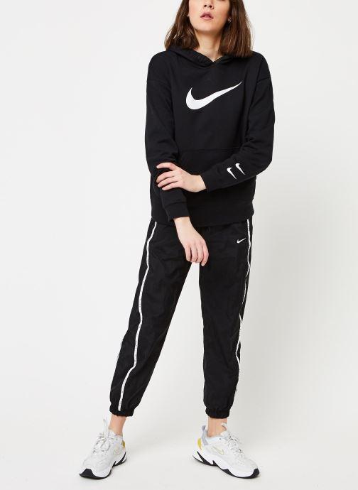 Nike Sweatshirt hoodie - W Nsw Swsh Hoodie Ft (Noir) - Vêtements (428647)