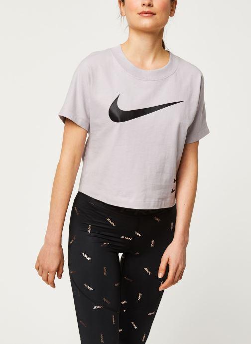 Nike W Nsw Swsh Top Ss (paars) - Kleding(428650)
