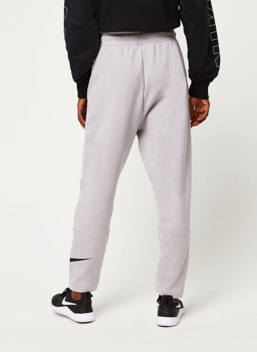Vêtements Nike W Nsw Swsh Pant Ft Violet vue portées chaussures