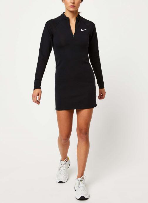 Vêtements Nike W Nsw Dress Ls Noir vue bas / vue portée sac