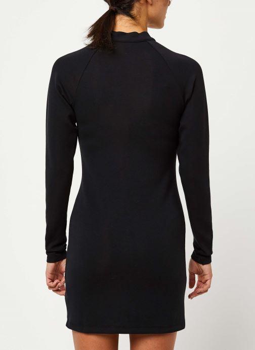 Vêtements Nike W Nsw Dress Ls Noir vue portées chaussures