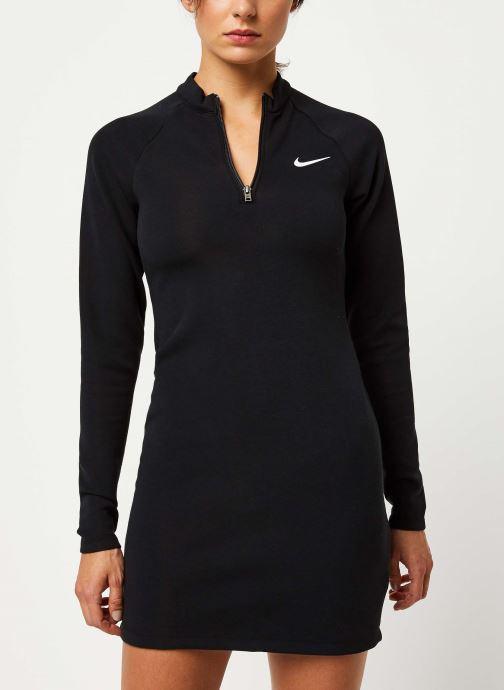 Vêtements Nike W Nsw Dress Ls Noir vue droite