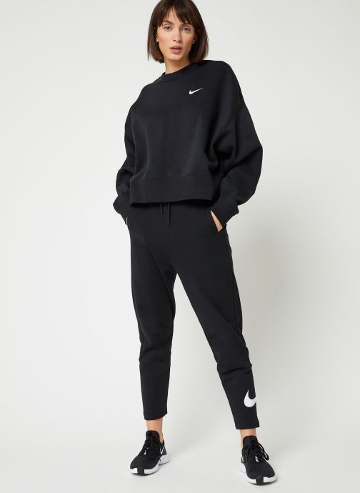 Tøj Nike W Nsw Crew Flc Trend Sort se forneden