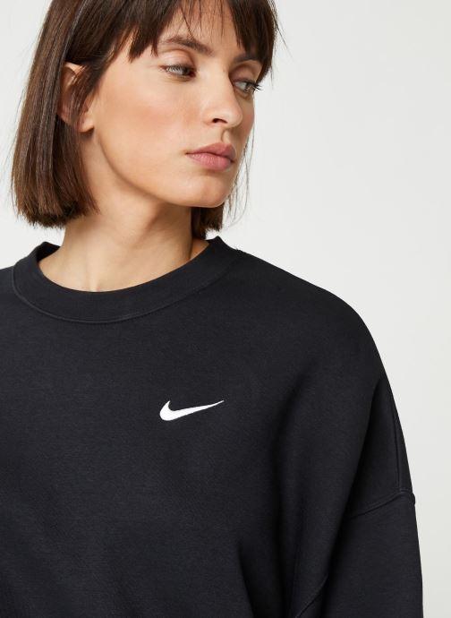 Tøj Nike W Nsw Crew Flc Trend Sort se forfra