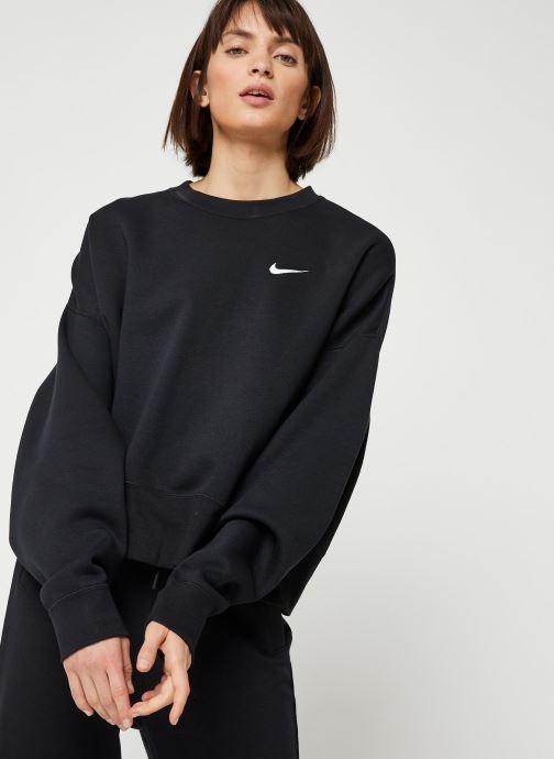 Tøj Nike W Nsw Crew Flc Trend Sort Se fra højre