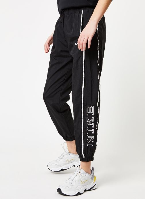 Vêtements Nike W Nsw Pant Wvn Piping Noir vue détail/paire
