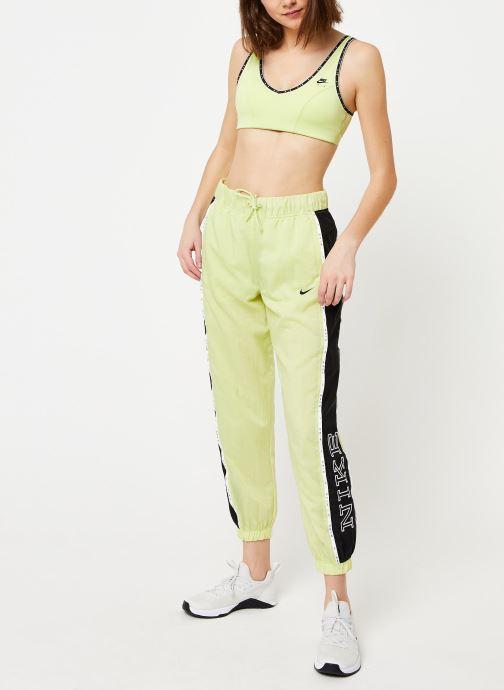 Vêtements Nike W Nsw Pant Wvn Piping Jaune vue bas / vue portée sac