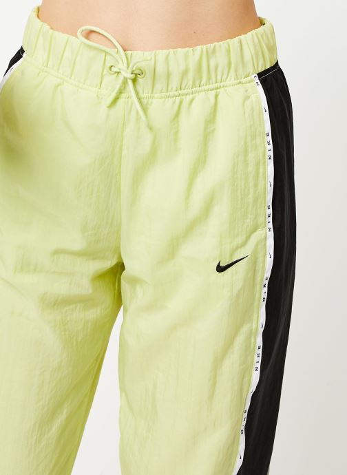 Vêtements Nike W Nsw Pant Wvn Piping Jaune vue face