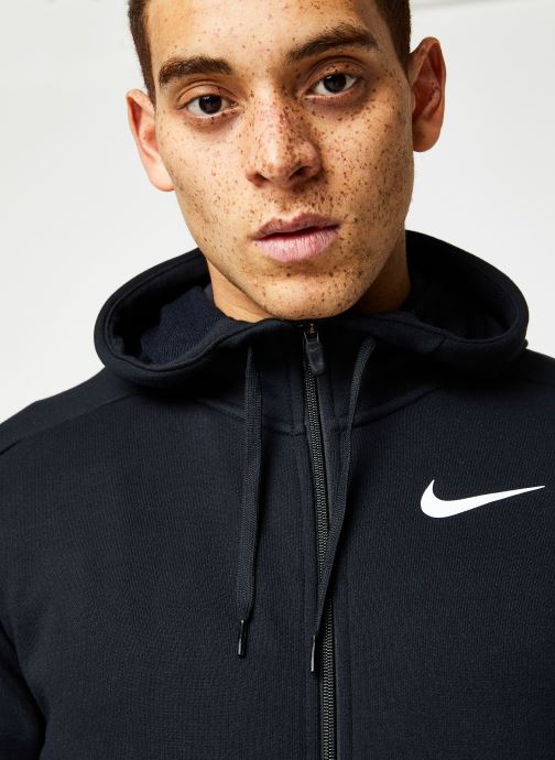 Vêtements Nike M Nk Dry Hoodie Fz Fleece Noir vue face