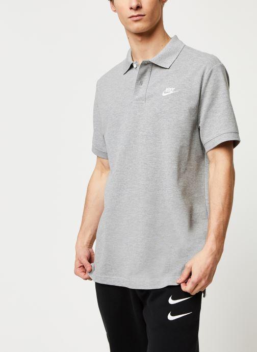 Vêtements Nike M Nsw Ce Polo Matchup Pq Gris vue détail/paire