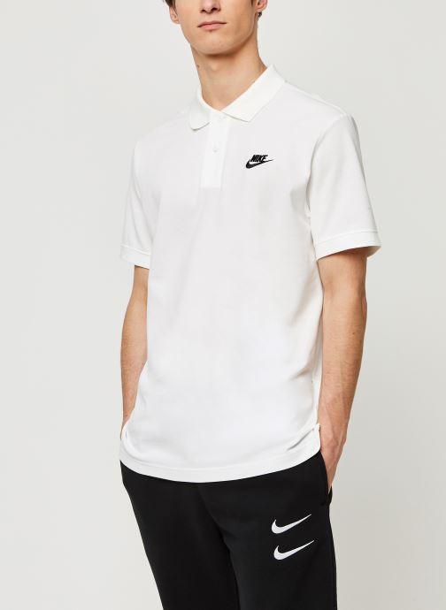 Vêtements Nike M Nsw Ce Polo Matchup Pq Blanc vue détail/paire