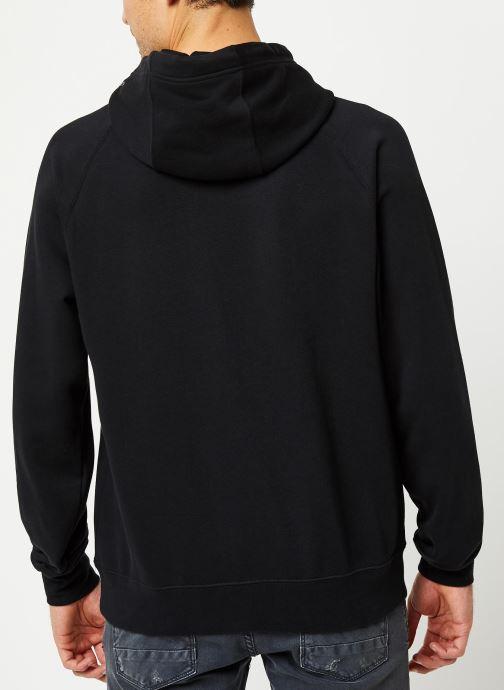 Vêtements Nike M Nsw Swoosh Hoodie Po Ft Noir vue portées chaussures