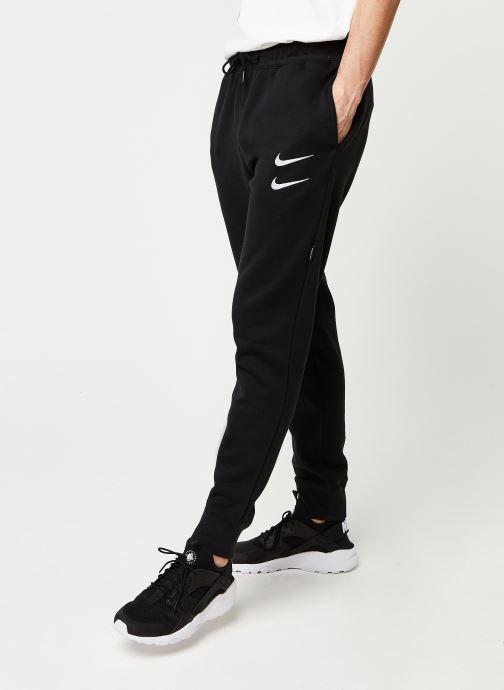 Vêtements Nike M Nsw Swoosh Pant Bb Noir vue détail/paire