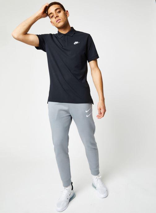Vêtements Nike M Nsw Swoosh Pant Bb Gris vue bas / vue portée sac