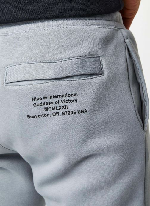 Vêtements Nike M Nsw Swoosh Pant Bb Gris vue face
