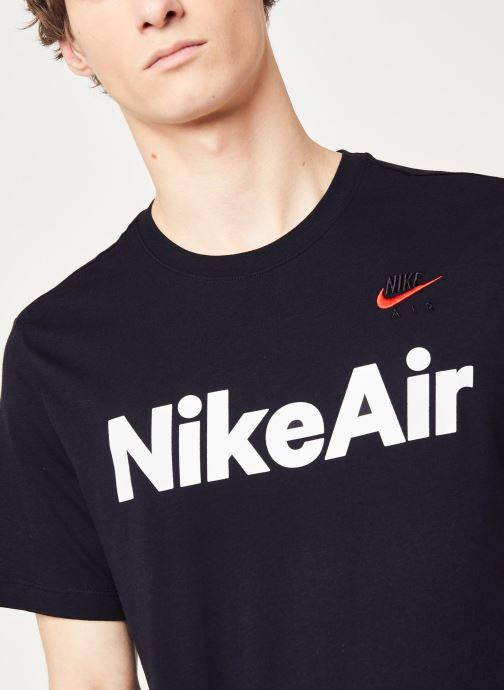 Vêtements Nike M Nsw Air Ss Tee Noir vue face