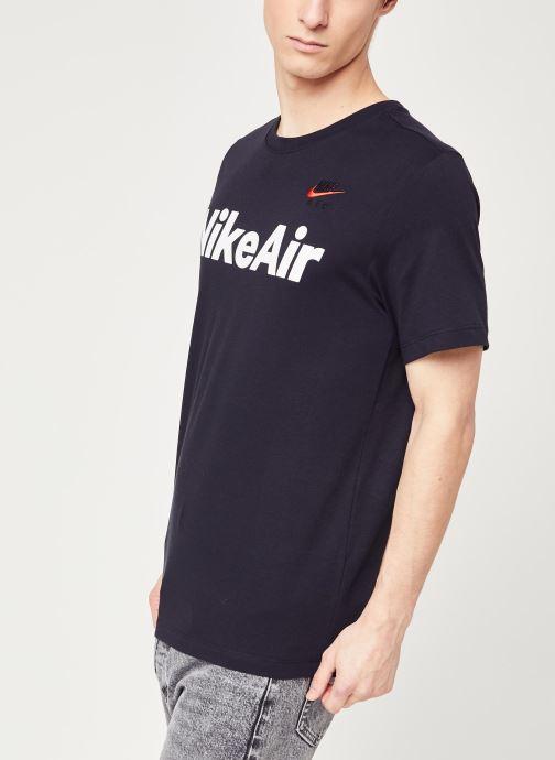 Vêtements Nike M Nsw Air Ss Tee Noir vue droite