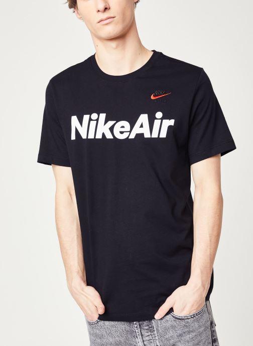 Vêtements Nike M Nsw Air Ss Tee Noir vue détail/paire