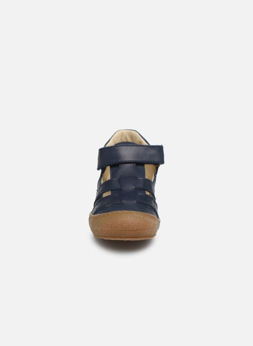 Ballerines Naturino Bede Bleu vue portées chaussures