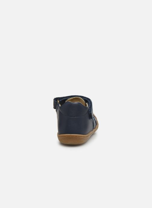 Ballet pumps Naturino Bede Blue view from the right
