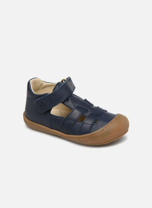Ballet pumps Naturino Bede Blue detailed view/ Pair view