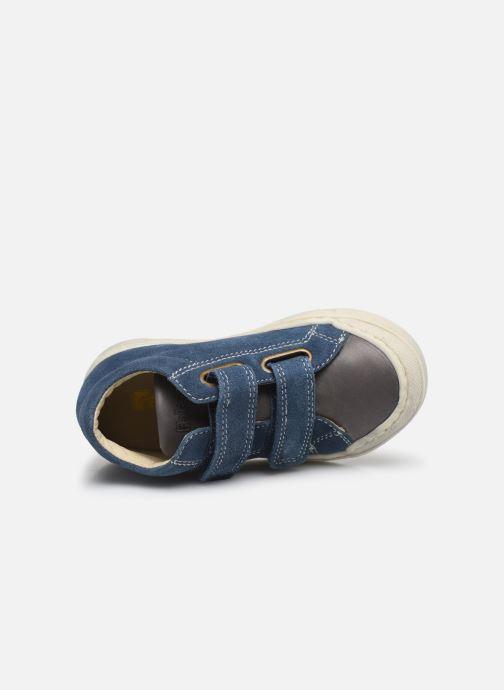 Bottines et boots Naturino Falcotto Snopes Bleu vue gauche