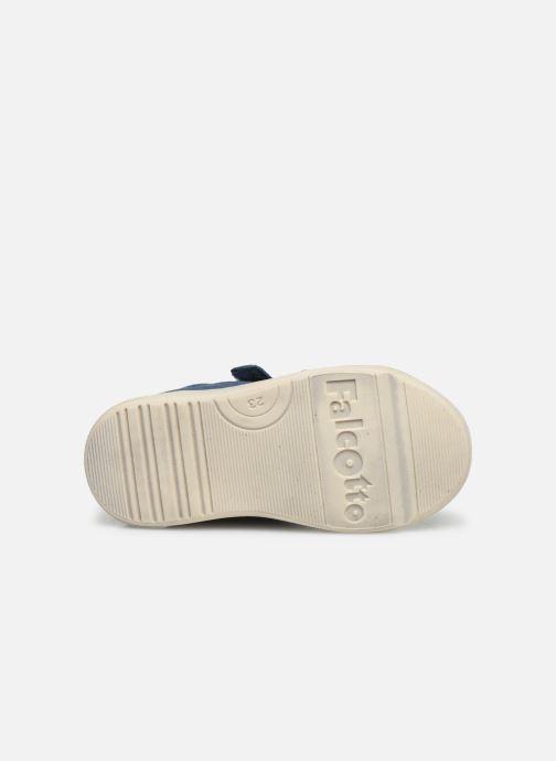 Bottines et boots Naturino Falcotto Snopes Bleu vue haut