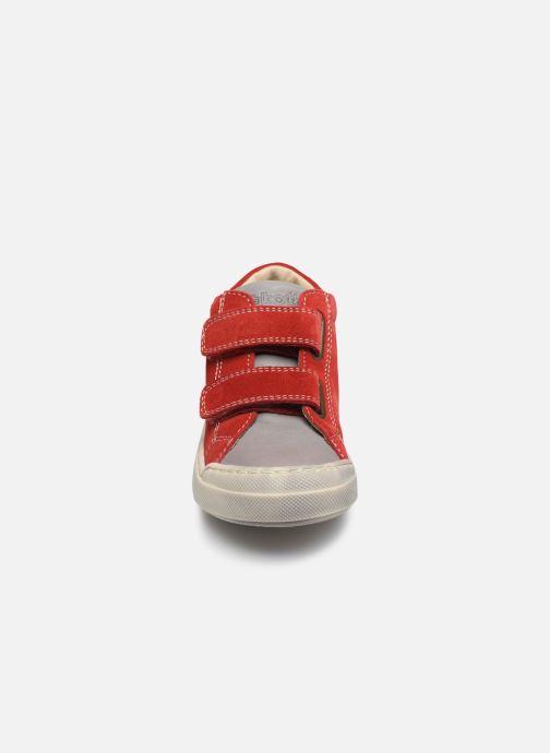 Bottines et boots Naturino Falcotto Snopes Rouge vue portées chaussures