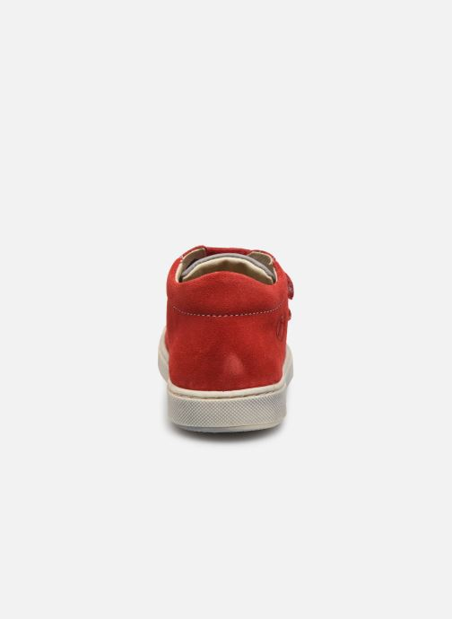 Bottines et boots Naturino Falcotto Snopes Rouge vue droite
