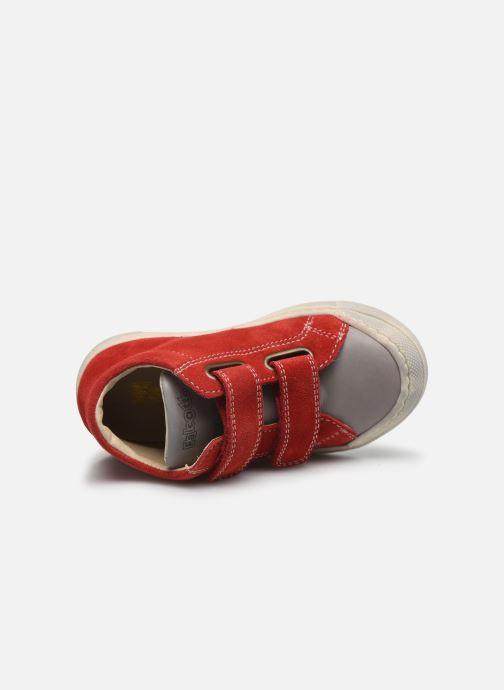 Bottines et boots Naturino Falcotto Snopes Rouge vue gauche