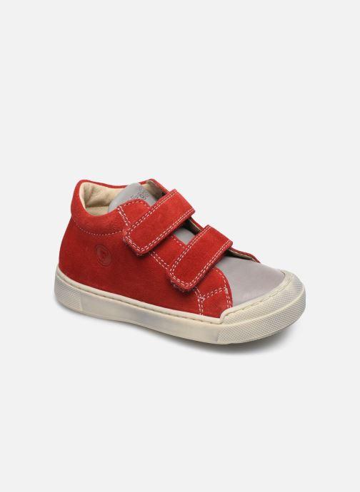 Bottines et boots Naturino Falcotto Snopes Rouge vue détail/paire