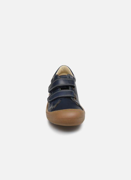 Baskets Naturino Gabby VL Bleu vue portées chaussures